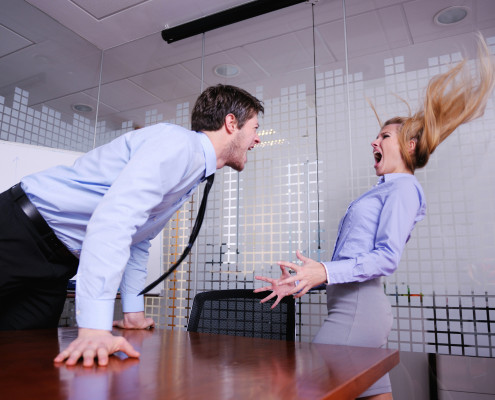 office conflict target training