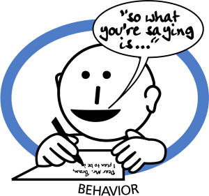 behavior target training