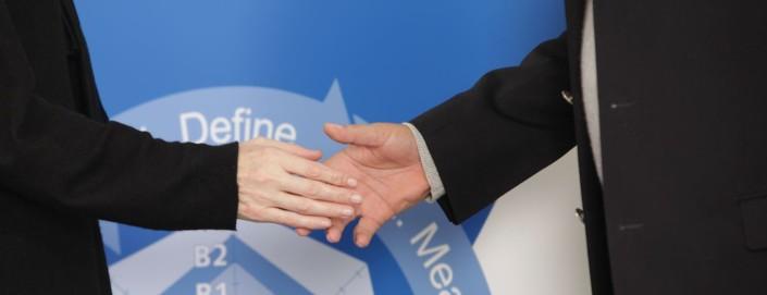 handshake target training