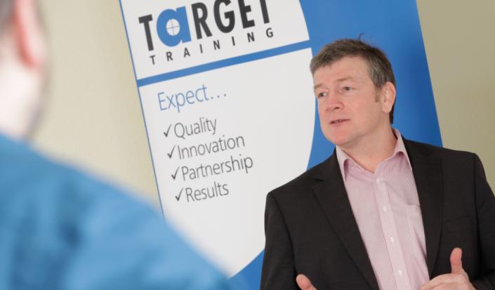chris presentation target training