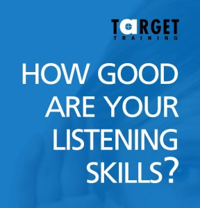 listening skills target training