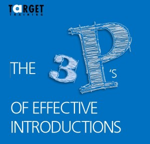 effective introductions target training